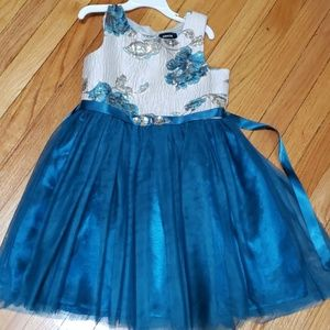 Zunie girls formal dress